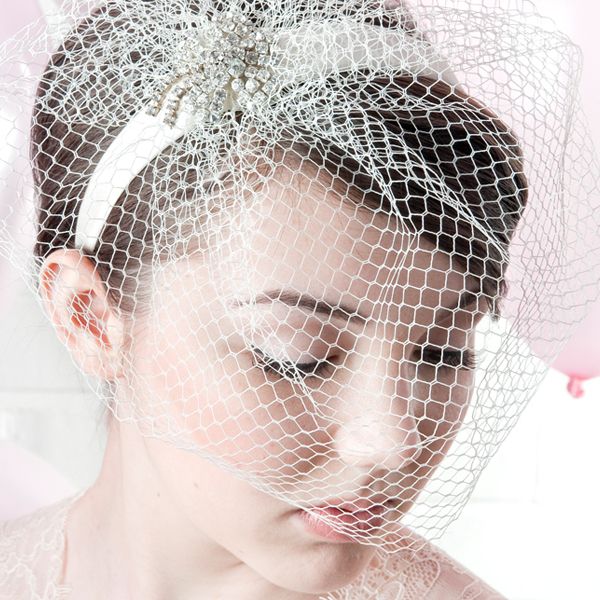 Pippa Bridal Birdcage Veil By Harriet product.jpg