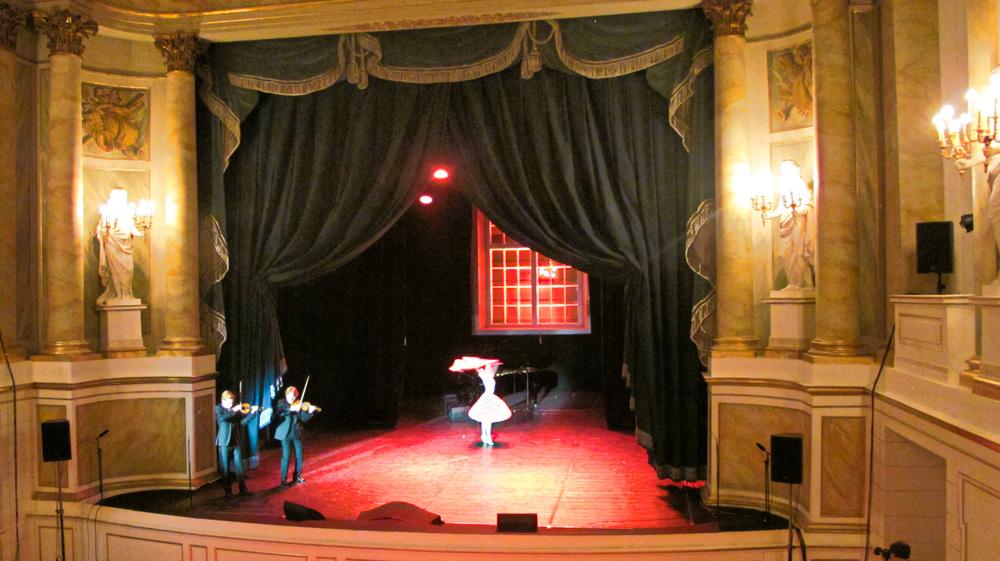 Cwizewicz Tatra Ballet | Warsaw, Łazienki Palace | November, 2015 | Photo: Teoniki Rozynek
