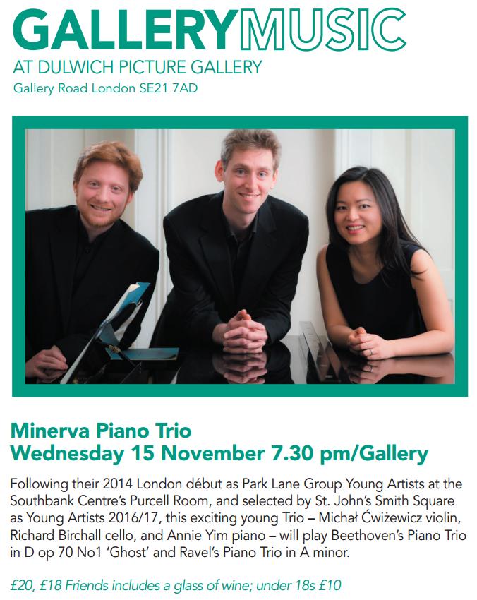 Minerva Trio Dulwich