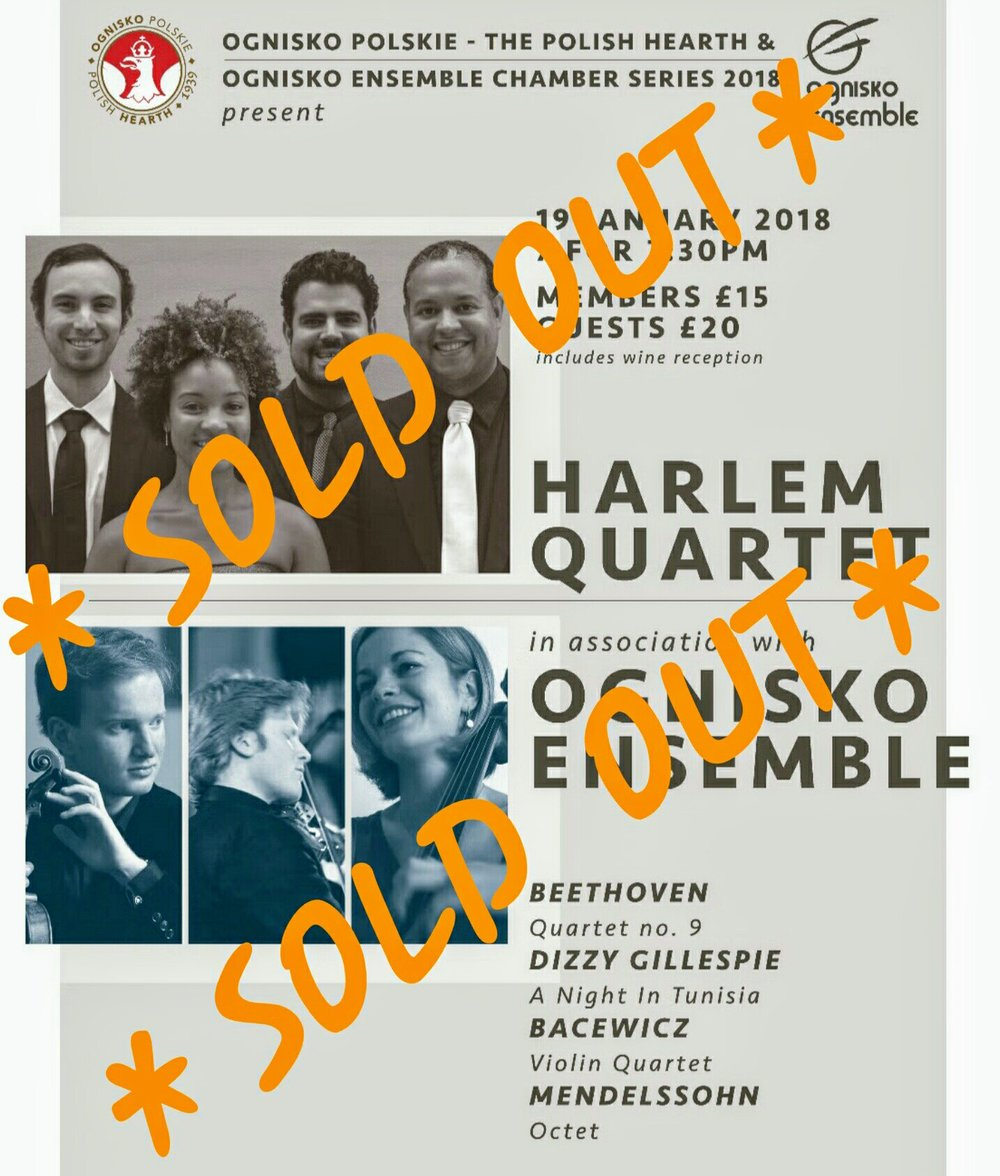 harlem quartet & ognisko ensemble