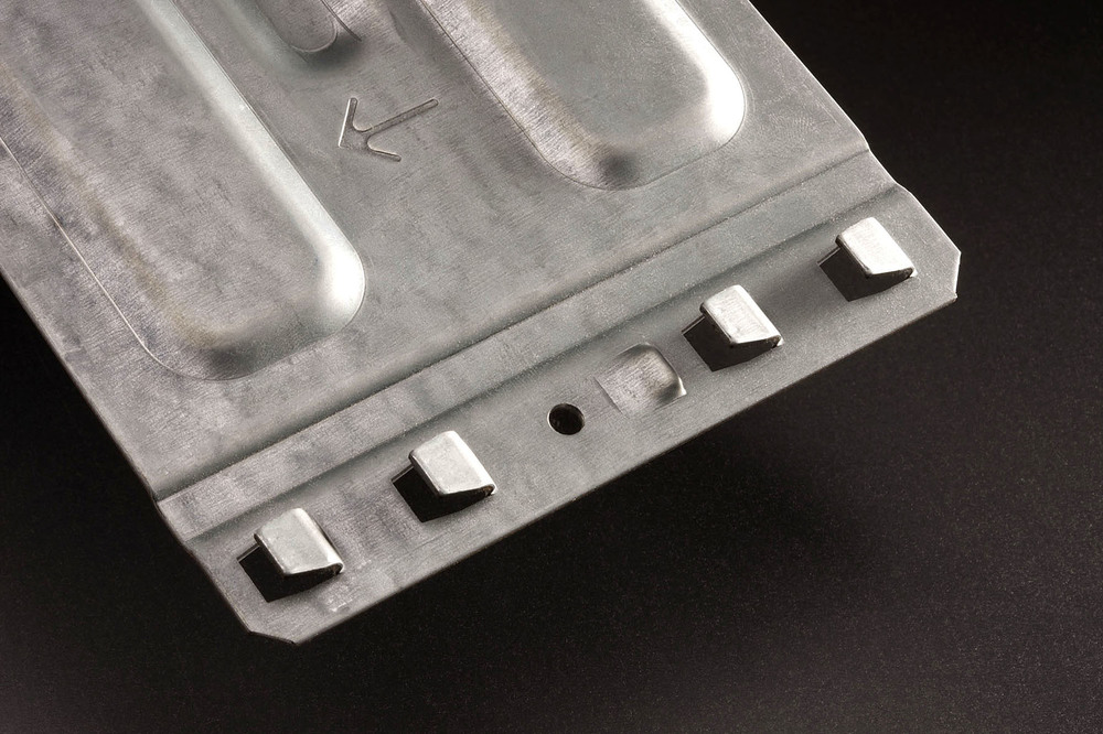 product photo of shelf bracket made with a WEMO production line