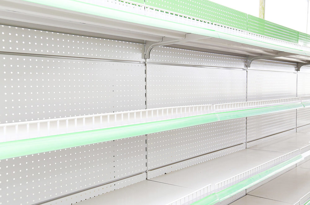 Sheet Metal Production Lines for Shelving Brackets