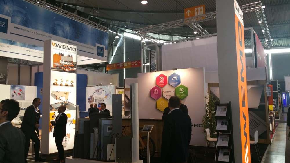 WEMO als deelnemer aan de Blechexpo 2015 in Stuttgart