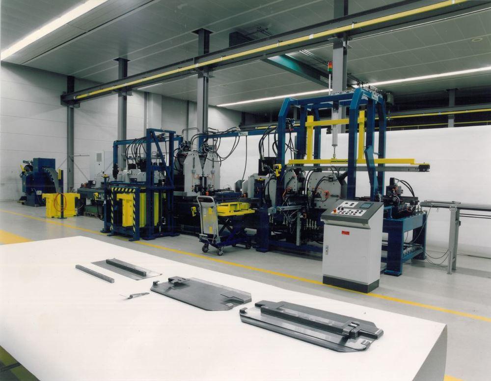 WEMO refurbished machine voor troffel bladen
