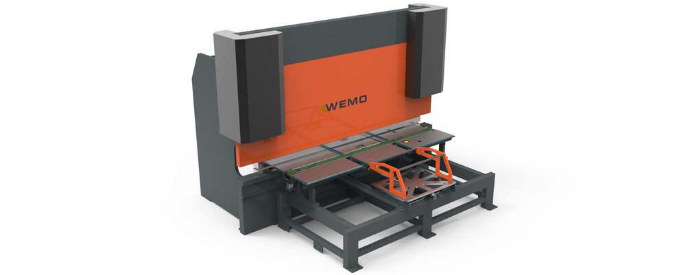 WEMO Productielijn voor het produceren van Lockers en Kasten