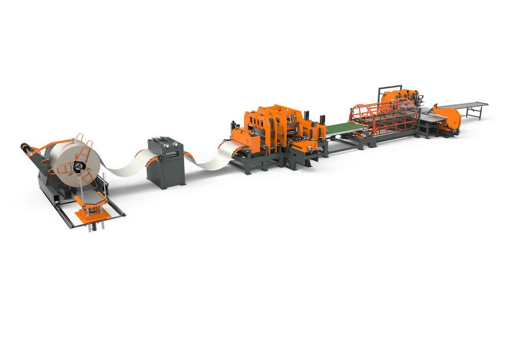 WEMO productielijn afbeelding met coilponsen