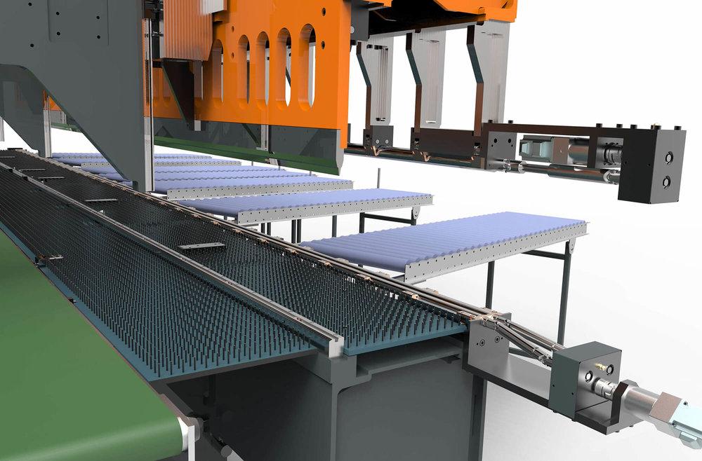 Komplette WEMO Produktionsmaschine für Rollladenkästen