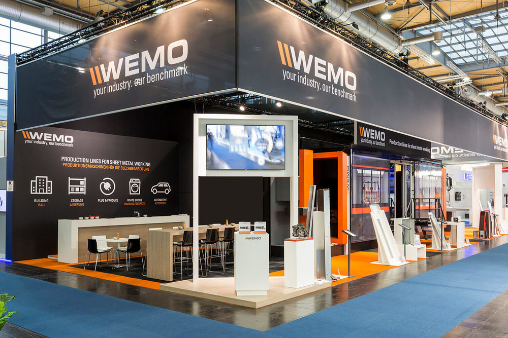 WEMO Mobile Experience at Euroblech 2016 in Hannover