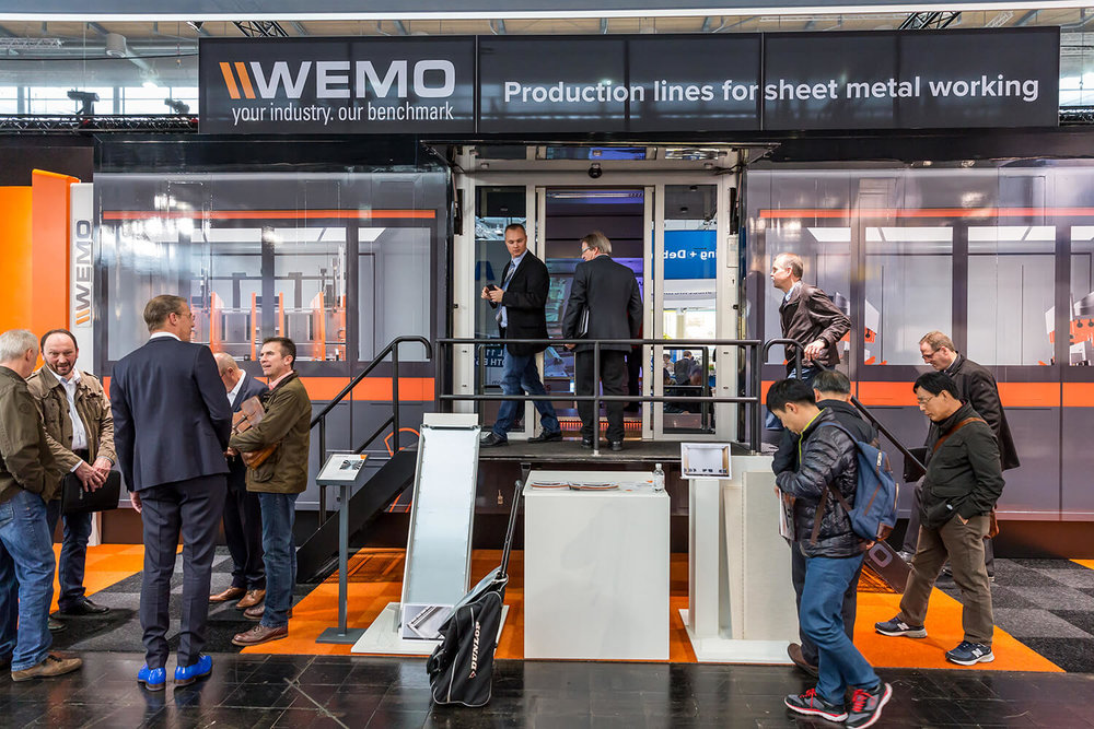 WEMO maschinen Mobile Experience Center