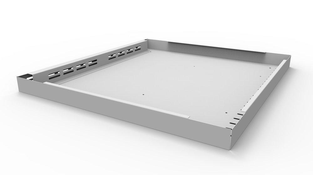 WEMO ponsen buigen en verbinden productielijn voor het produceren van lockers en kasten