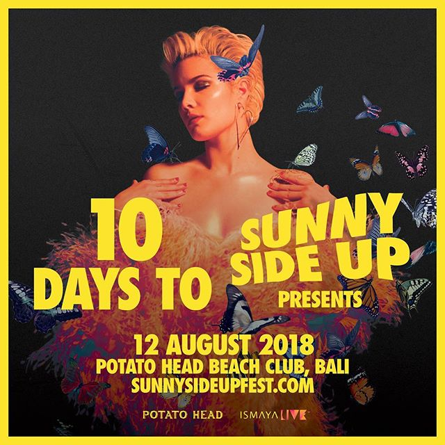 We're just 10 days away from Day Two of #SSU18! Can you name 10 artists who've rocked the #sunnysideupfest stage in the past? 🤔 Comment below! #ismayalive #potatoheadbali