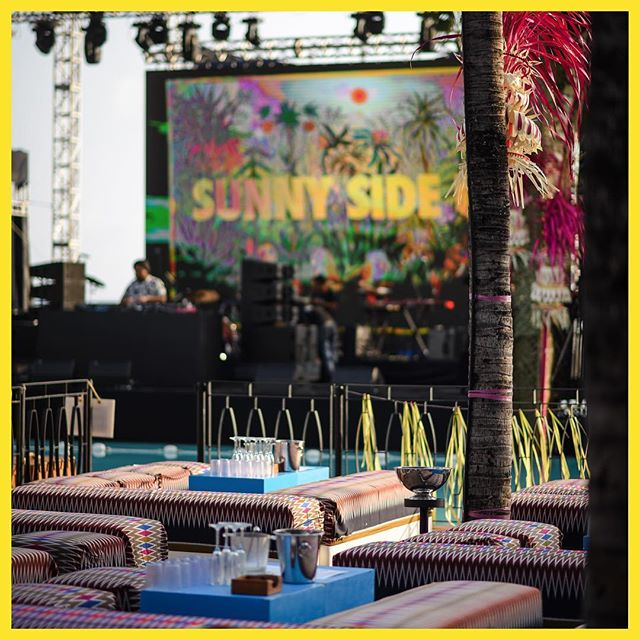 Isn't the view always better from the VIP section? 🏝 We've got two options for you fancy folks, in the same fabulous area. Find out more through link in bio 🐒 #SSU18 #sunnysideupfest #potatoheadbali #ismayalive