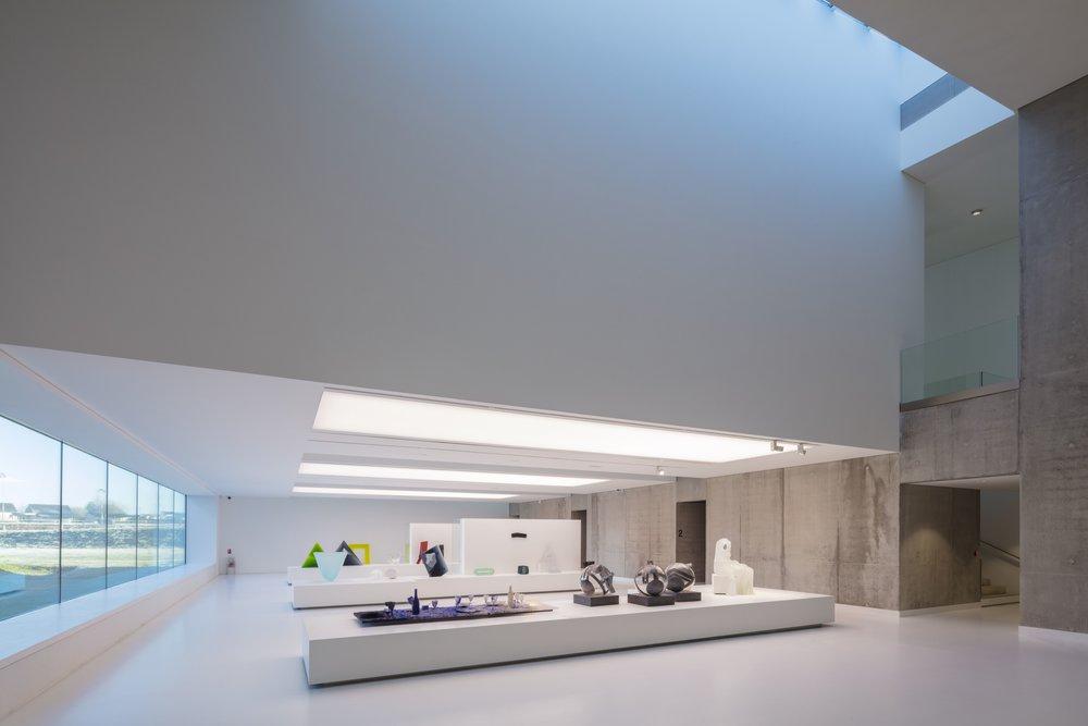 Architectes : W Architecture _Musée du Verre _ Sars Poteries : Photographe : Guillaume GUERIN © 2016