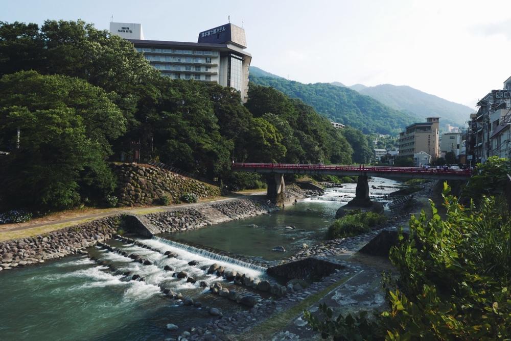 Hayakawa River.