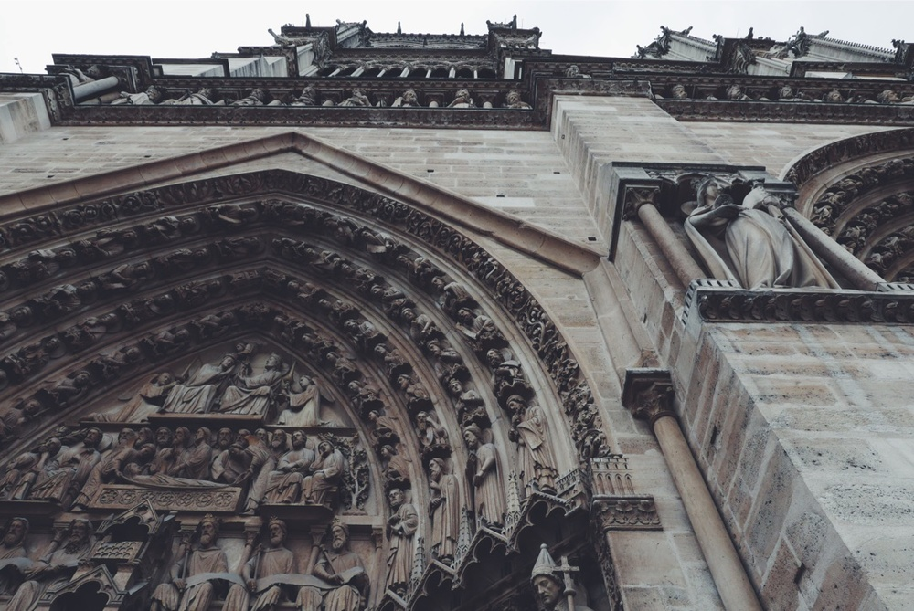 Notre Dame's Portal of the Last Judgement (or in layman's terms, the west entrance).