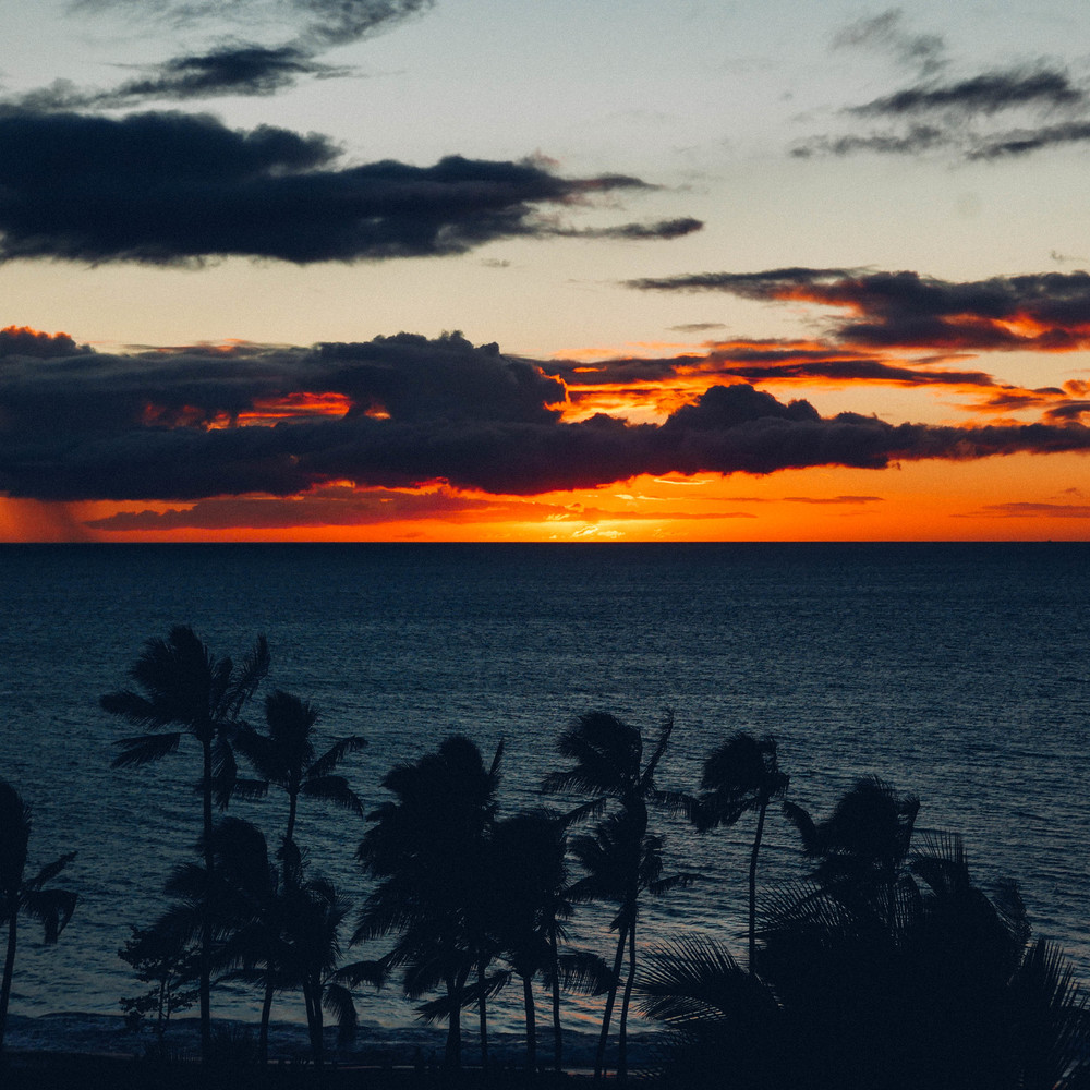 Sunsets: no one does them like Hawaii.