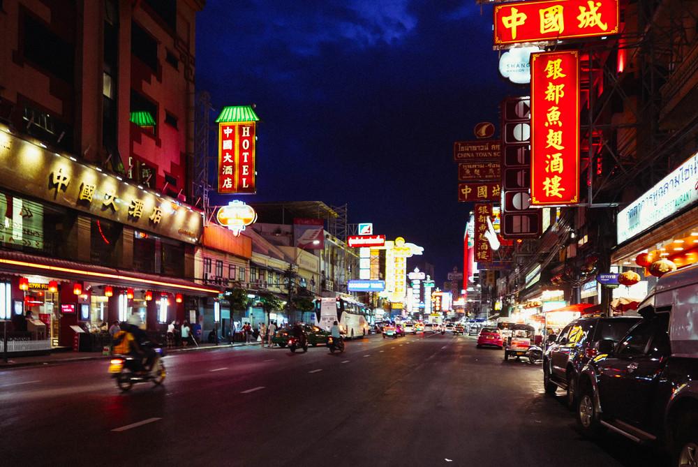 {yaowarat street scenes}
