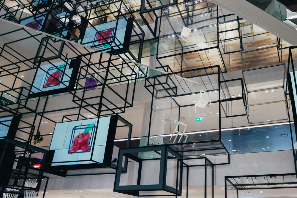 {art installations at siam discovery}