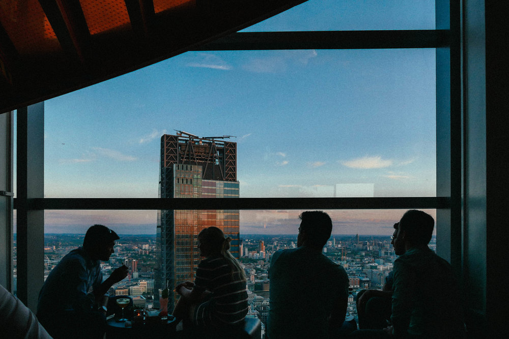 {Skyline views from SUSHISAMBA}