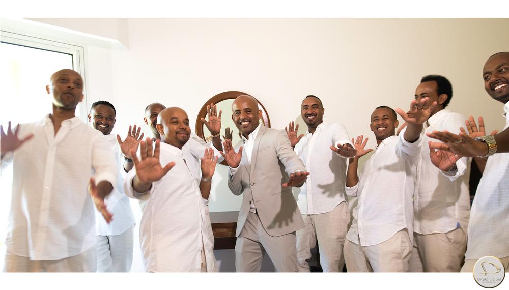 foto sposo e amici lucca santo domingo