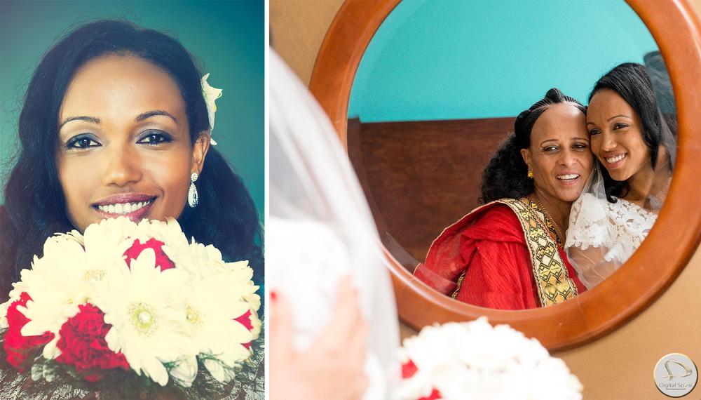 foto sposa e madre