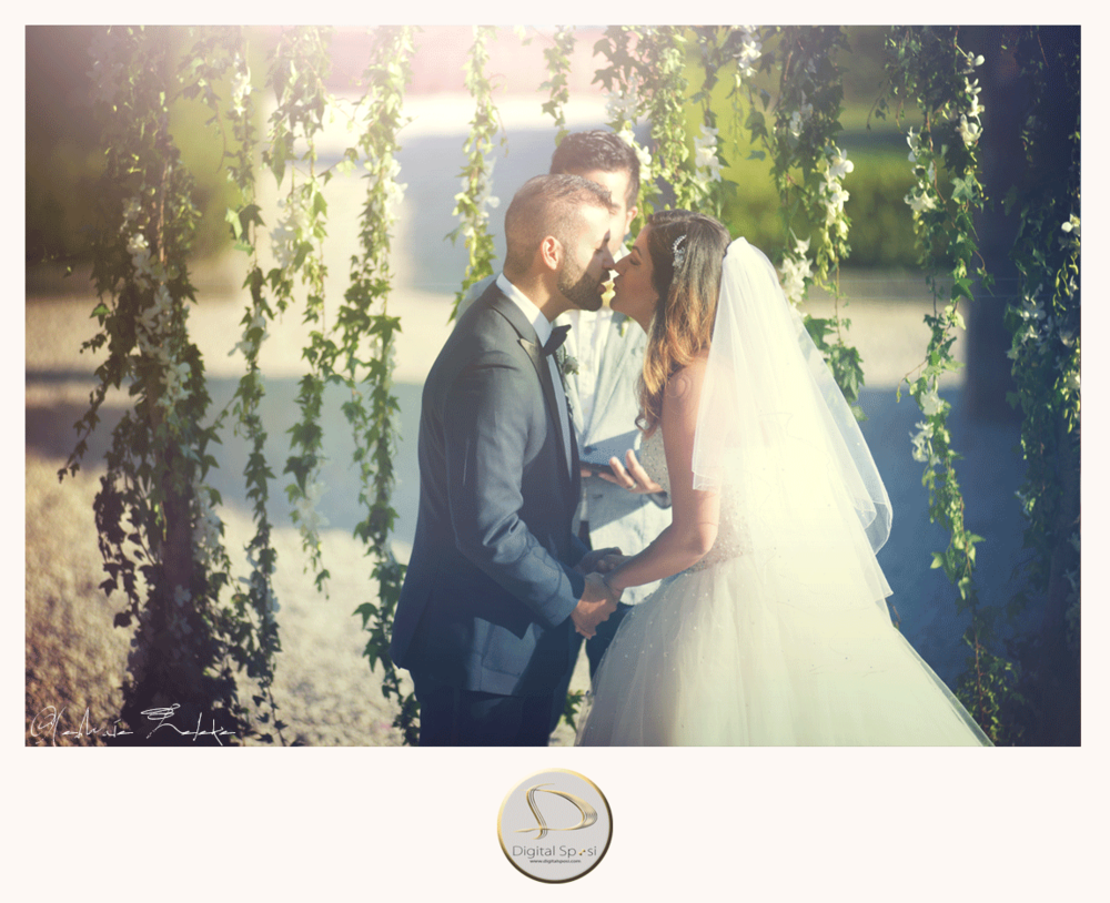 foto matrimonio all'aperto lucca