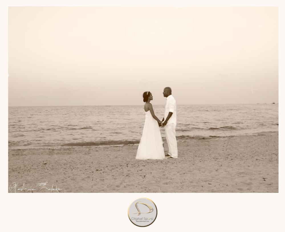 foto sposi al mare lucca e santo domingo