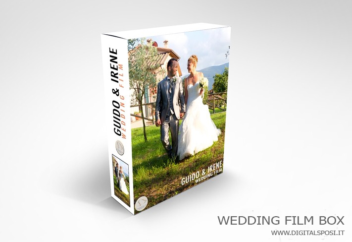 wedding film box