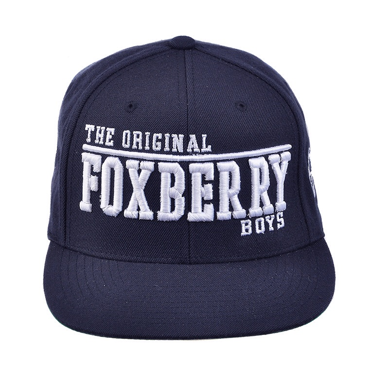 The Original Foxberry Boys will be dropping our third colour way Snapback on 16/11/15. This New Navy Blue Foxberry Boys Snapback features The Original Foxberry Boys logo in 3D embroidery on the front, Trademark Fox Logo on the side panel, Foxberry Boys on the back and a adjustable strap which is dropping online exclusively to the official web store foxberryboys.co.uk