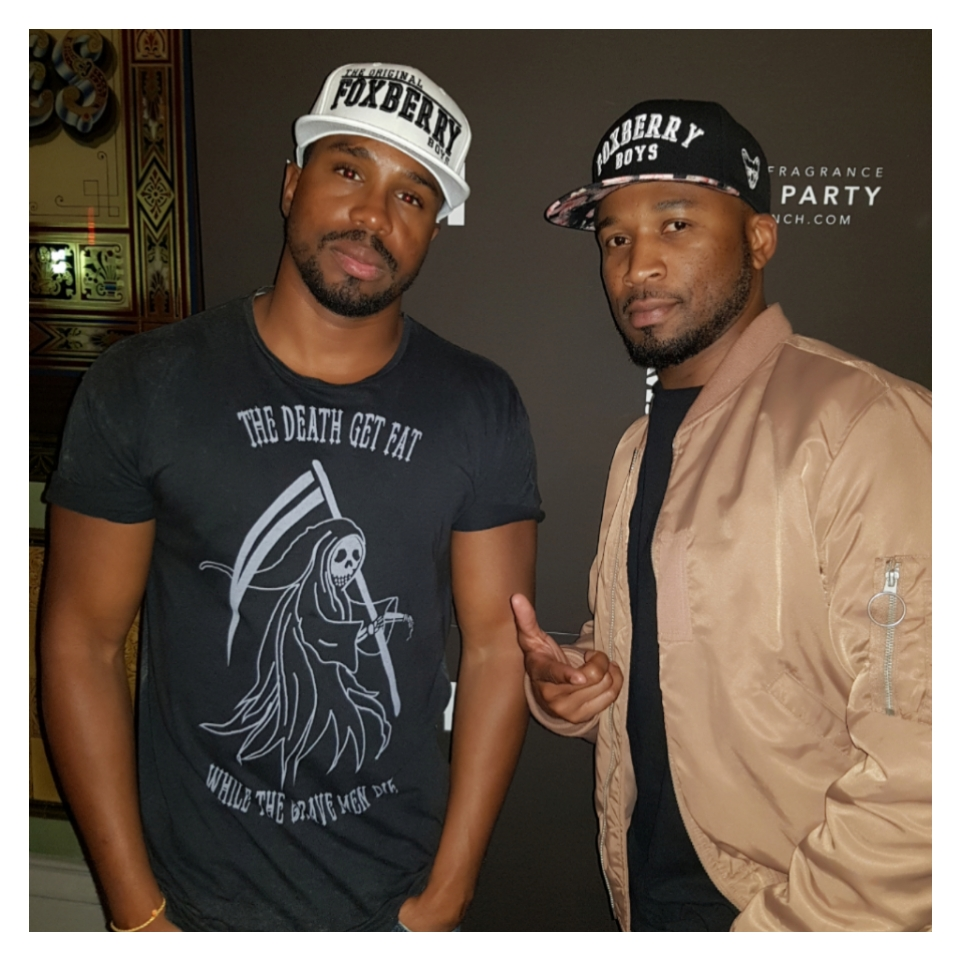 One UK brand supporting another,  Foxberry Boys  were in full effect at the launch party.