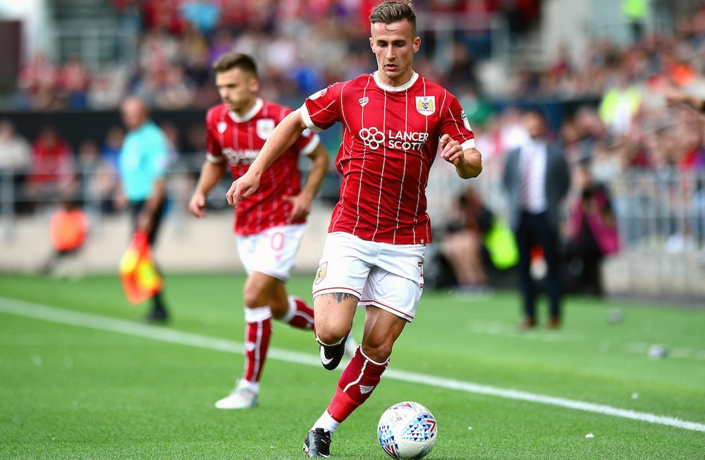 Silky Bristol City FC Midfielder Joe Bryan scored the opener with a screamer in the 51st minute