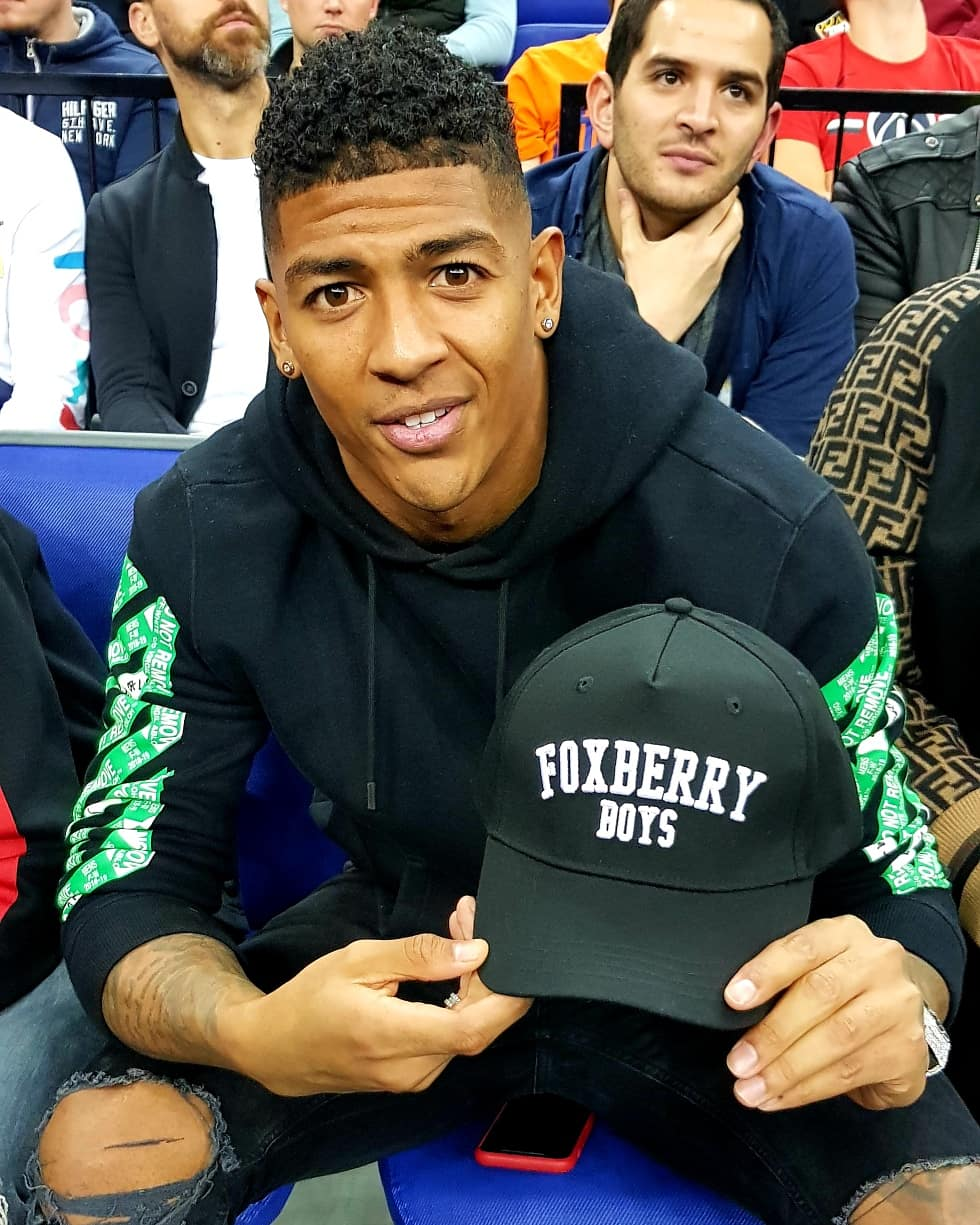 Patrick van Aanholt, Crystal Palace & Netherlands International Defender with our  sports luxe baseball cap.  Premium quality for a quality premiership player