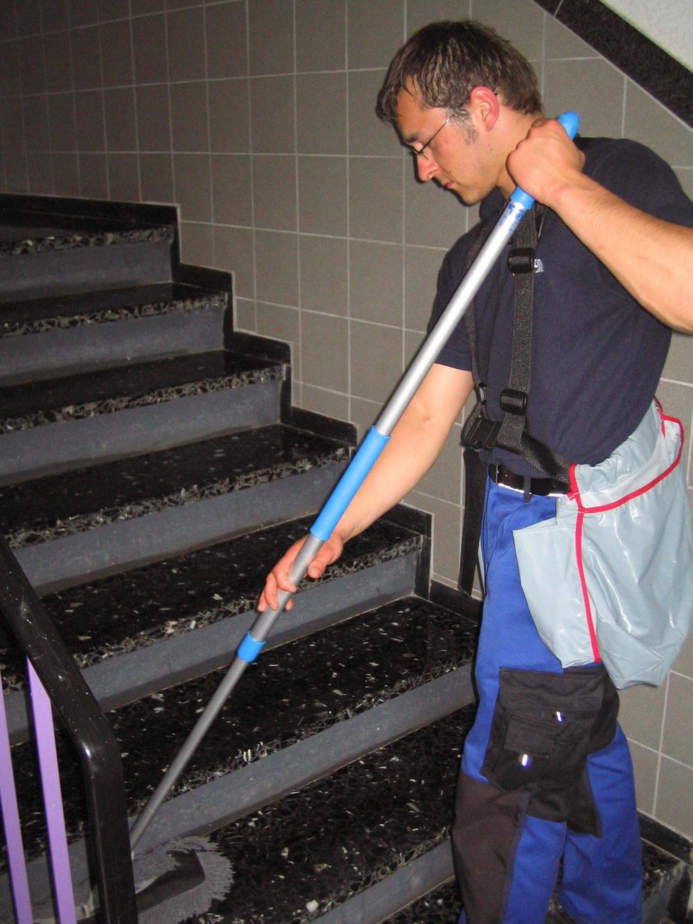 Treppenhausreinigung