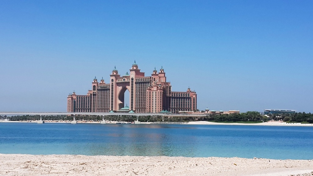 Atlantis Hotel on Palm Jumeirah, Dubai