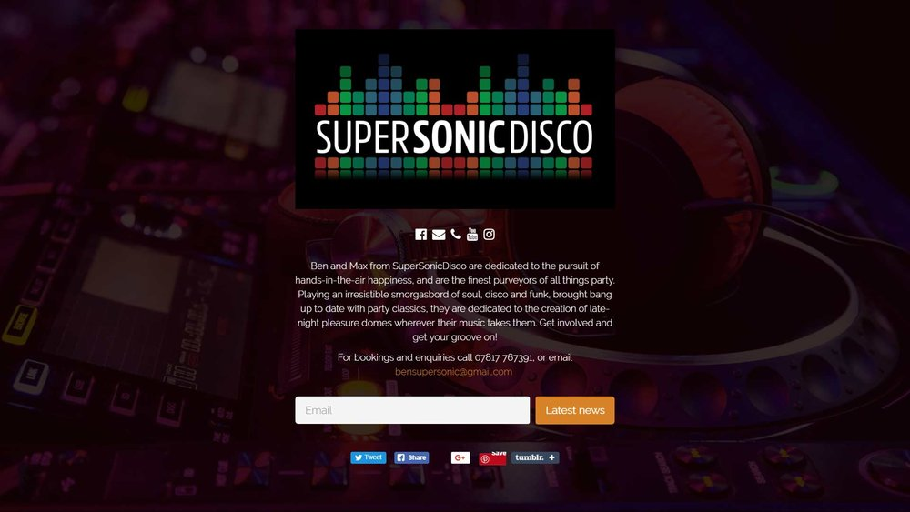 Supersonic Disco