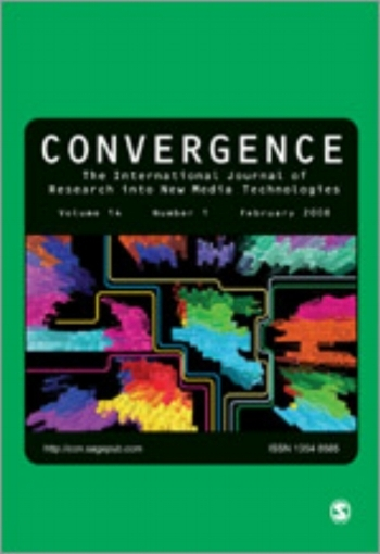 Convergence: The International Journal of Research into New Media Technologies 2015, Vol. 21(1)