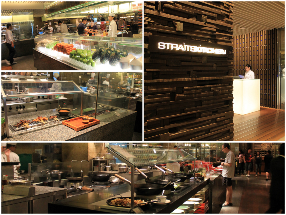 straits kitchen, grand hyatt hotel, singapore.