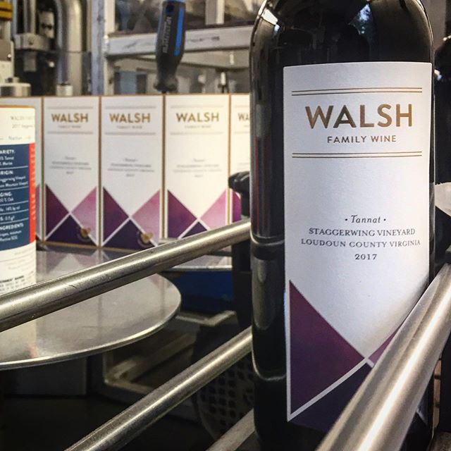 We've been waiting 5 years to bottle our first red wines, so what better way to start than with a bold, dense Tannat?  The timing of our first reds is no coincidence, as we're putting together a delicious lineup of wines for the opening of our tasting room in Purcellville.  #tannat