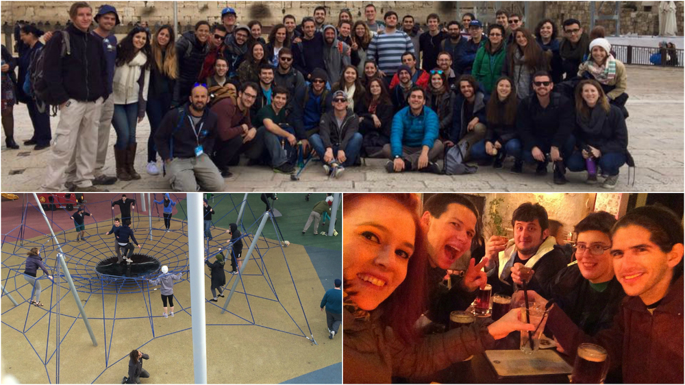 Group photos, incredible playgrounds, and nights out in Tel Aviv.