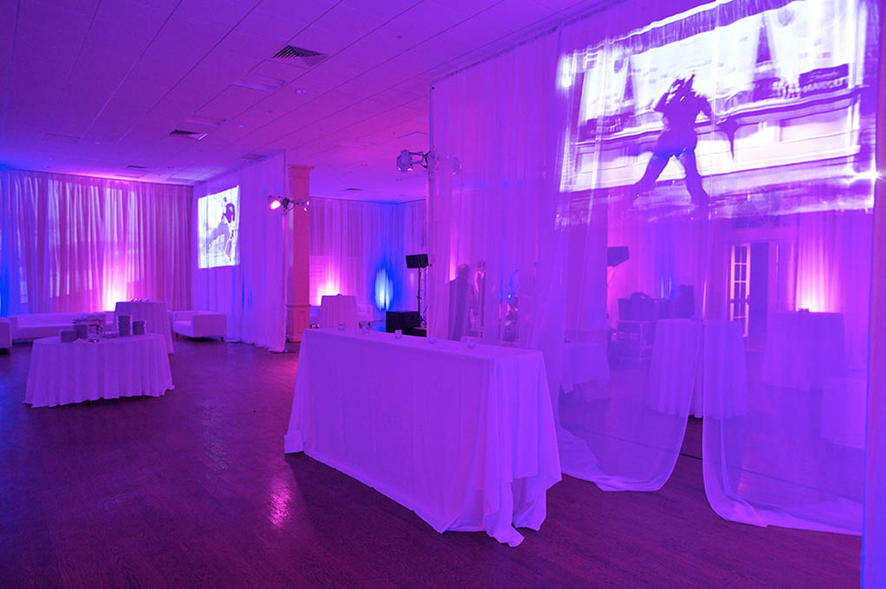 Fabric Projection - Live Events - Festivals - Rentals and Staging - The AV Company