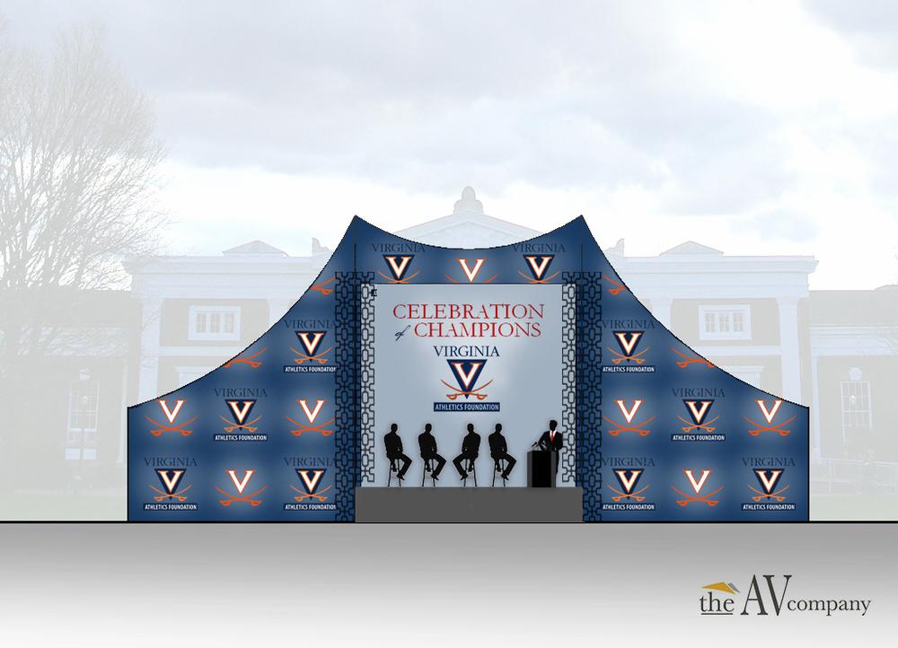 Portfolio . Renderings . Celebration of Champions . UVA