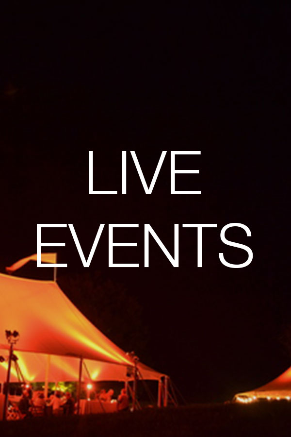 Live Events . Rental and Staging