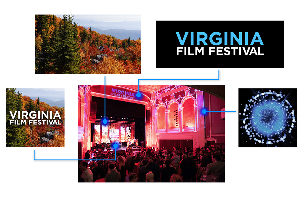 Virginia Film Festival Event Graphics