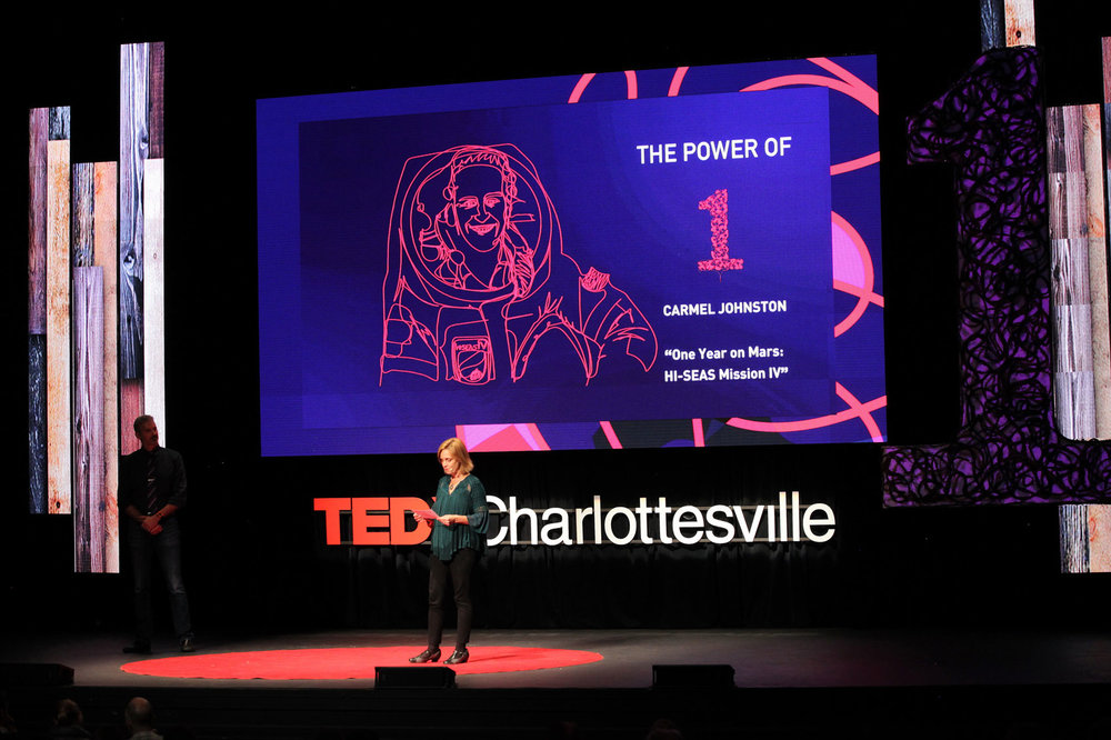 TEDxCharlottesville LED Video Wall Configuration