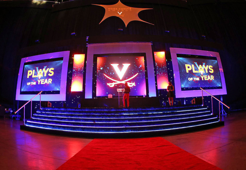 UVA All Sports Hoos Choice Awards with LED Video Walls