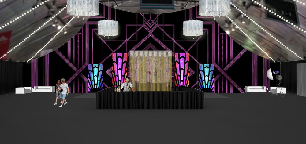 Event Design Twenties Rendering