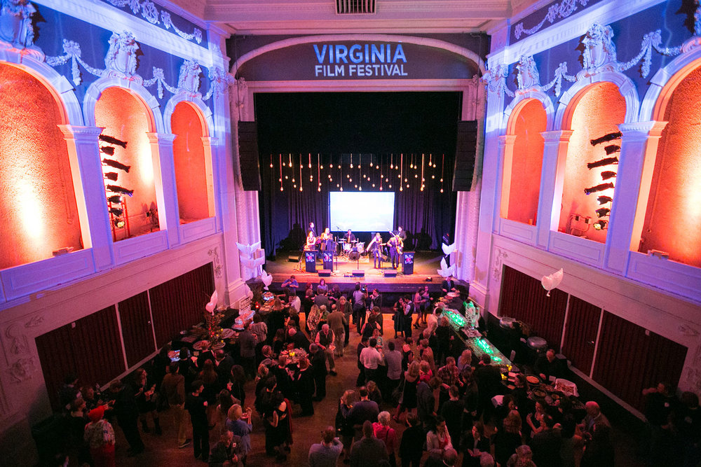Virginia Film Festival Projection Mapping