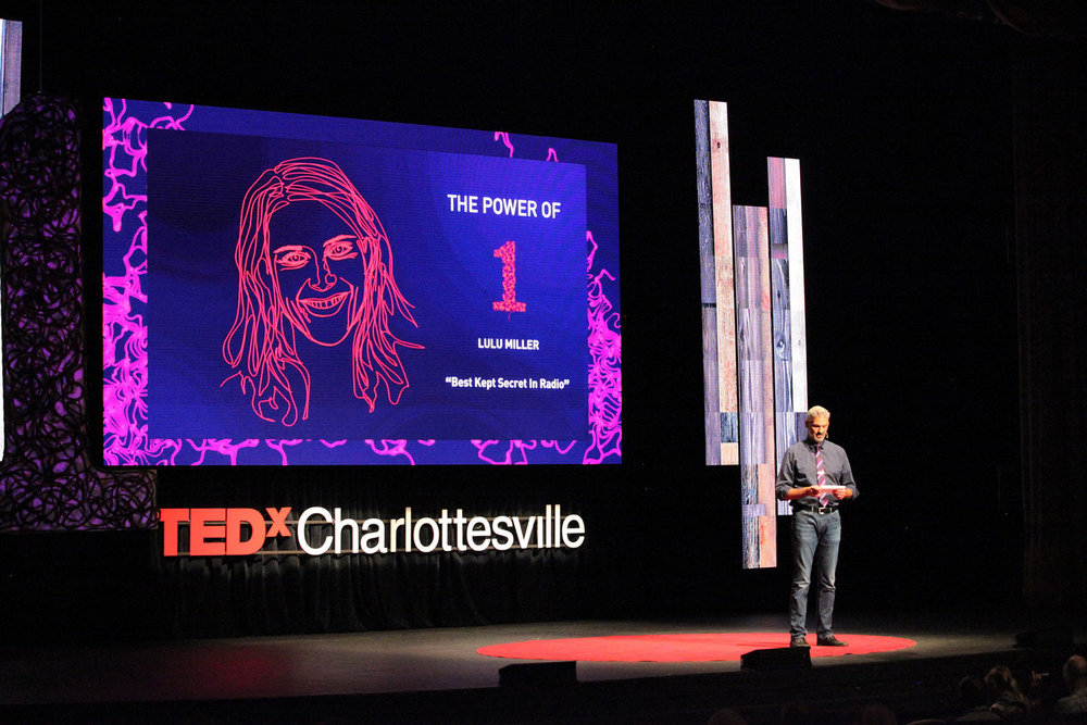 LED Video Panel Wall . TEDxCharlottesville Conference . Paramount Theater Charlottesville