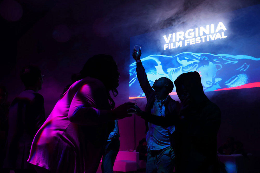 LED Video Panel Wall . Virginia Film Festival Wrap Party . Main Street Arena Charlottesville