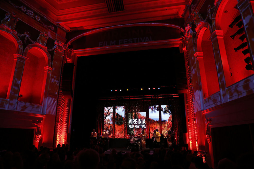 LED Video Panel Wall . Virginia Film Festival Opening Night Gala. Jefferson Theater Charlottesville